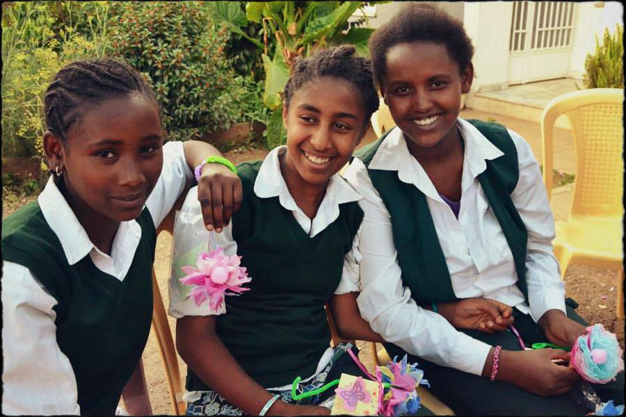 Three African Girls