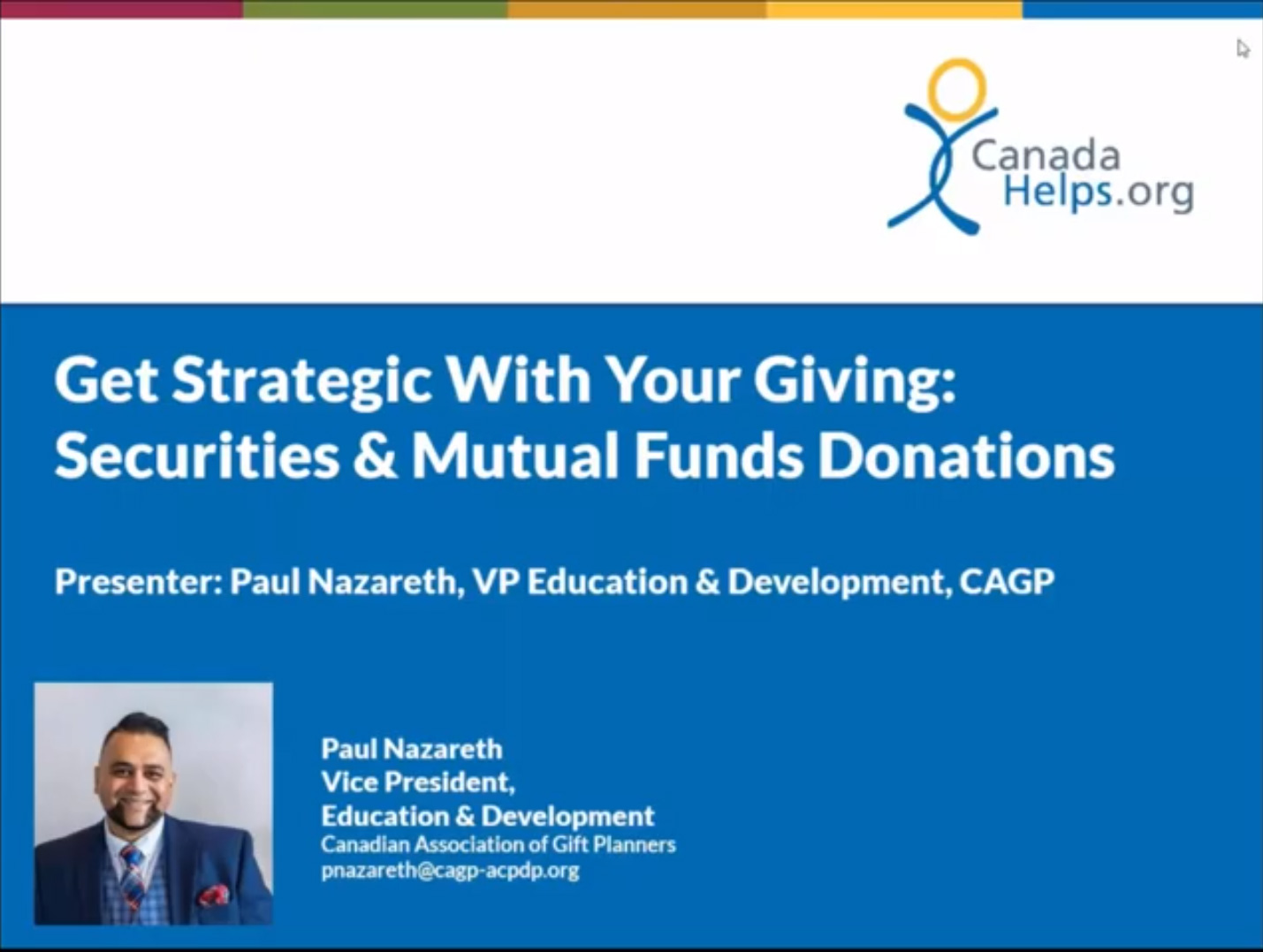 Get Strategic with Your Giving
