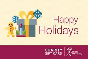 Charity Gift Card