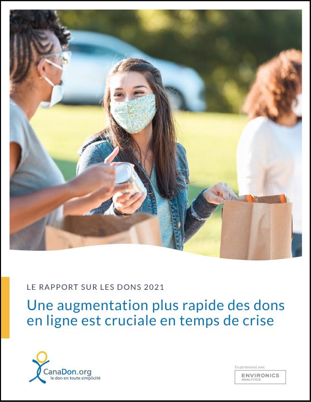 Le rapport sur les dons 2021