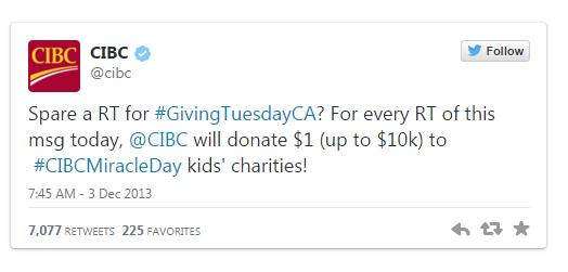 CIBC Tweet