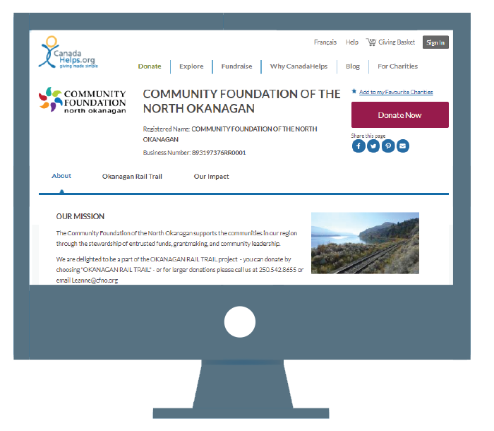 make sure that when donors search for your organization on canadahelpsorg you are well represented with a compelling media rich profile page - Make Profile