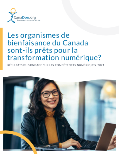 Les organismes de bienfaisance du Canada sont-ils prets pour la transformation numérique?