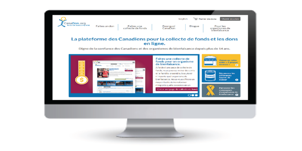 Le nouveau site de CanaDon est maintenant en ligne!