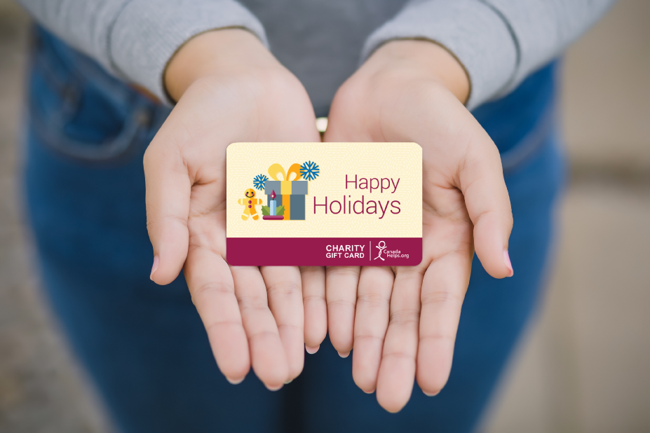 Give A Charity Gift Card