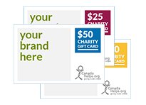Corporate Charity Gift Cards