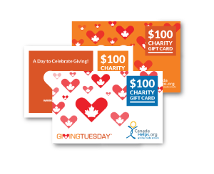 GivingTuesday Charity Gift Cards