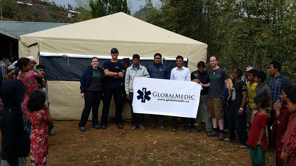 Global Medic Team - Tent