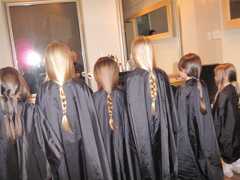 Girls Hair Donation