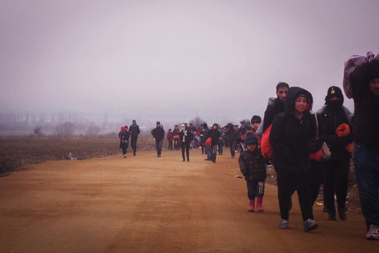 Refugees Walk