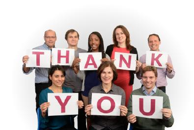Staff Thank You