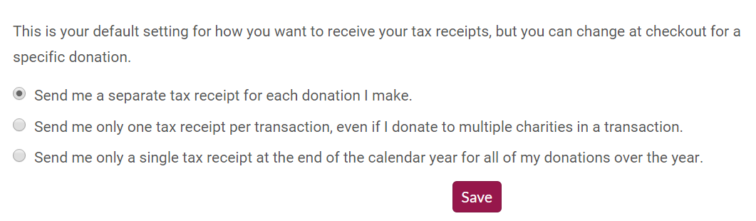 accessing tax receipts from your canadahelps account canadahelps