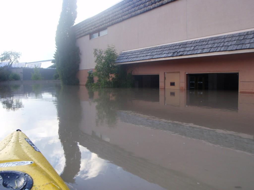 Calgary zoo flood