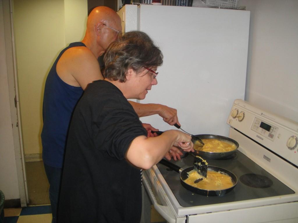 Breakfast Program - Making Eggs