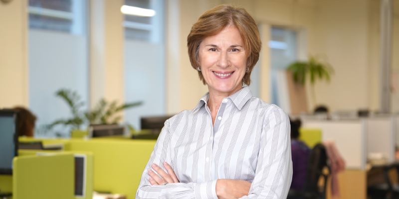 Head shot of CanadaHelps President and CEO, Marina Glogovac