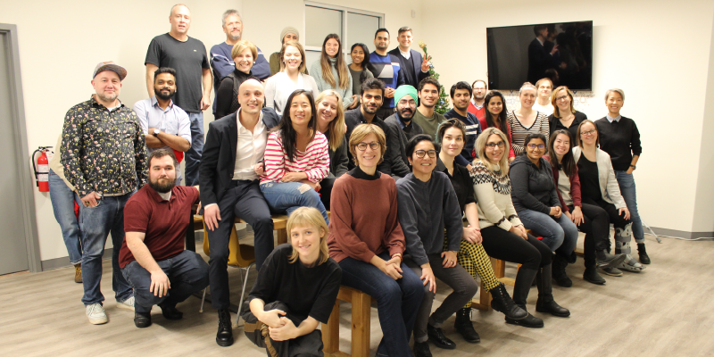 Group shot of CanadaHelps Staff