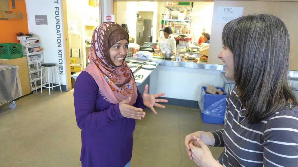 ra, a peer advocate for Regent Park Community Food Centre (CFCC)