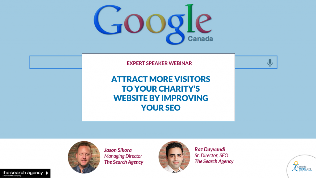 Attract More Visitors to Your Charity's Website by Improving Your SEO Education Page Image