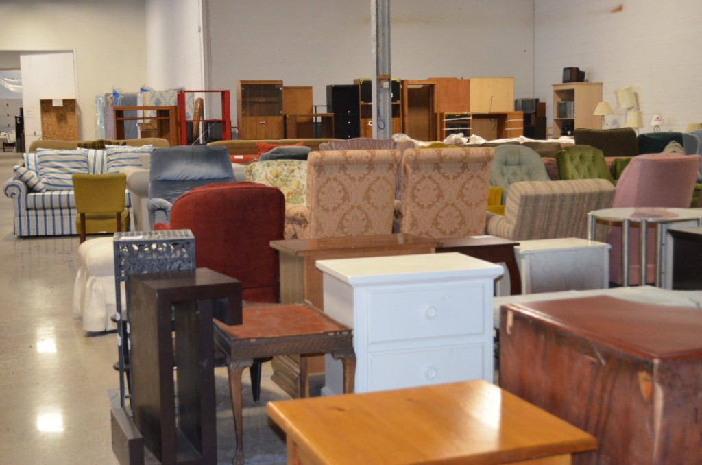 Just Another Day At The Furniture Bank Right Canadahelps