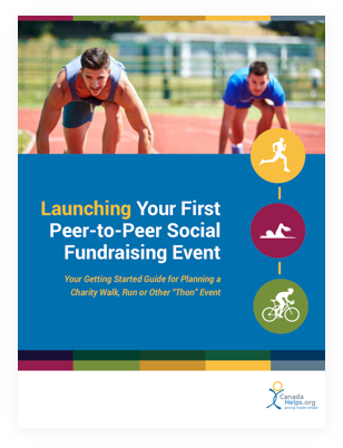 Launching your first P2P social fundraising event