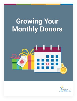 Growing your monthly donors