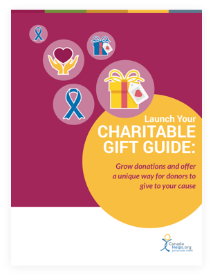 Launch your charitable gift guide
