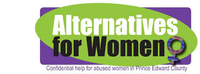 ALTERNATIVES FOR WOMEN IN PRINCE EDWARD COUNTY