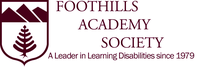 FOOTHILLS ACADEMY SOCIETY