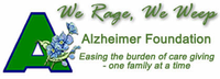 WE RAGE WE WEEP ALZHEIMER FOUNDATION